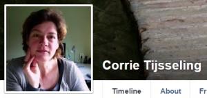 Corrie op Facebook